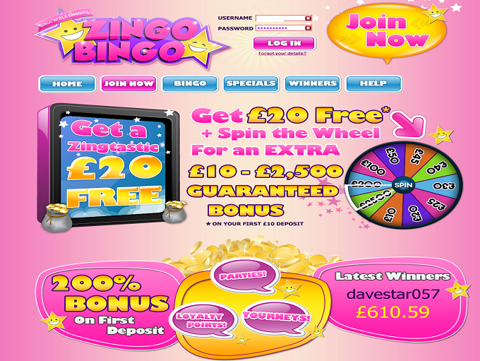 Zingo Bingo Review – Expert Ratings and User Reviews