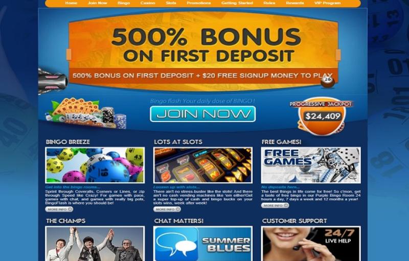 Bingo Flash Casino