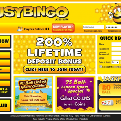 Busy Bingo Home