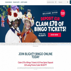Blighty Bingo Home