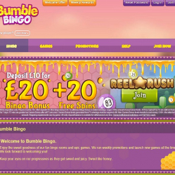 Bumble Bingo Home