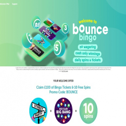 Bounce Bingo Home