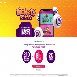 Tickety Bingo Home
