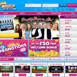 Crown Bingo Home Page