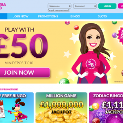 Spectra Bingo Home Page