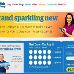 Health Lottery Home Page