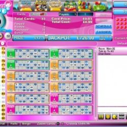 Gina bingo 90 ball screenshot