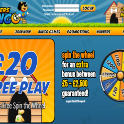 Rovers Bingo Home Page