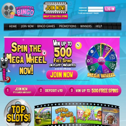 Showreel Bingo Home Page