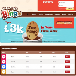 Biscuit Bingo Home Page