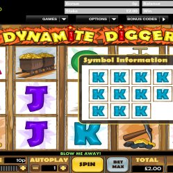 Dynamite Digger slot at Totesport