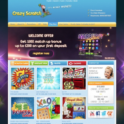 Crazy Scratch Home Page