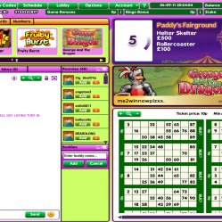 paddy power Bingo's Paddy's Fairground room