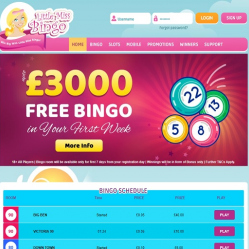 Little Miss Bingo Home Page