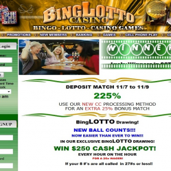 BingLotto Home