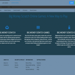 Big Money Scratch Lobby