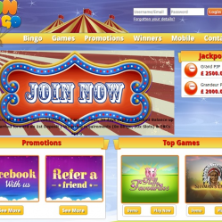 Fun Bingo Home Page