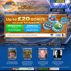 Jackpot Liner Home Page
