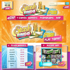 Stash Bingo Home Page