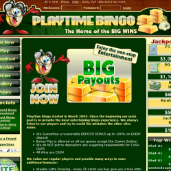 Play Time Bingo Hopme