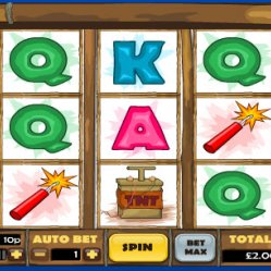 Dynamite digger slots at deal or no deal bingo