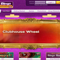 Bingo Clubhouse Home