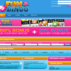 Fun and Bingo Home Page