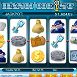 Bank heist slots at bingobeez