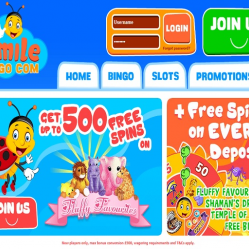 Smile Bingo Home Page