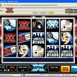 xfactor at chitchatbingo screenshot