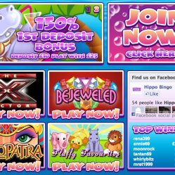 Hippo bingo 150% deposit match and slots