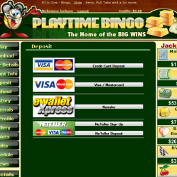 Play Time Bingo Banking