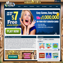 Mega Money Games Home Page