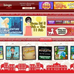 posh bingo slots selection screenshot