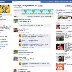 Bingo Beez uk Facebook
