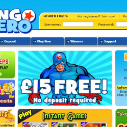 Bingo Hero Home