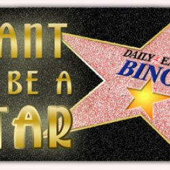 be a star at daily express bingo
