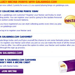 Gala nectar points