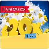 £20k in Prizes for Free Only at Costa Bingo