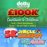 A £100K Christmas Countdown and Jingle Jackpots Must be Won this Month at Dotty Bingo