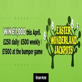 It's an Easter Wonderland of Jackpots at Bingo Magix