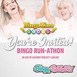 BingoZino Your Way to Fighting Breast Cancer with the Bingo Run-Athon Fundraiser