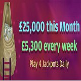 Gone Bingo £25,000 Jackpot Games in May