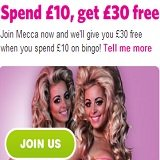 New Mecca Bingo Welcome Offer