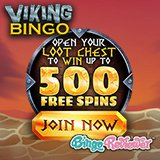 A Lot of Loot Waiting to Be Discovered at the New Viking Bingo Including a Loot Box Bonus!