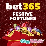 Grab a share of over £1,000,000 this Christmas at Bet365 Bingo