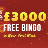 Up to £3,000 in free bingo at Big Heart Bingo!