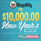 Bingo Billy Hosts a $10K Raffle in January