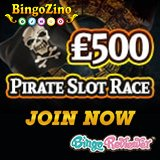 Bingo Zino Is Running A £500 Pirate Slot Race!