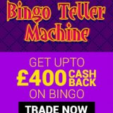£400 Bingo Cash-back July